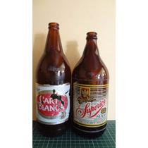Botella Cahuama Cerveza Carta Blanca Y Superior
