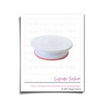 Base Giratoria Para Decoración De Pasteles Cupcakes #1316