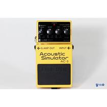 Pedal Boss / Acustic Simulator Ac-3 / Instrumentos Musicales