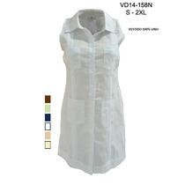 Guayabera Vestido100%lino