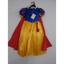 Vestido Princesa Blanca Nieves Tallas 3,4 Y 6