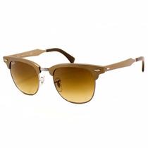 Óculos Ray-ban Clubmaster Rb3507 139/85 51 Aluminum