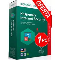 Antivirus Kaspersky Internet Security 2017 Licencia Original