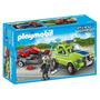 6111 Playmobil Cidade Carro De Limpeza Com Cortador De Grama