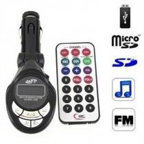 Transmisor Modulador Fm 5 En 1 Para Carro + Control Usb Slot