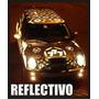 Lamina Autoadhesiva Reflectiva Auto Moto Camion Reflex