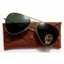 Óculos Ray Ban Aviador Original 50%off Com Nota E Garantia