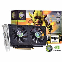 Placa Vídeo Nvidia 9800gt 1 Gb 256bit Dvi Vga Hdmi Ddr3