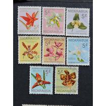 Nicaragua Orquideas Nativas Serie Carimb.