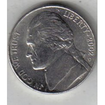 Estados Unidos Moneda De 5 Cents Año 2002 D !!!!