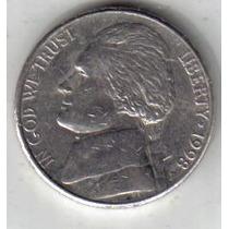 Estados Unidos Moneda De 5 Cents Año 1998 P !!