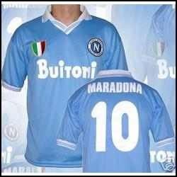 4d83c6fb8db2f Camiseta Uso Maradona En Italia Estamp   10 Nueva -   790