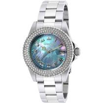 Invicta Mujer 19872 Angel Reloj Acero Inoxidable Azul