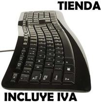 Teclado Microsoft 3000 Curve Ergonomico Cableado Usb Español