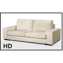 Sillón Sofa Cama 2 Plazas Alta Gama C/mecan Y Asiento Soft