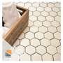 Hexagono Porcelanato Malla Mosaico Panal 30x30