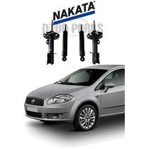 04 Amortecedores Originais Nakata - Fiat Linea Punto
