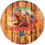Quadros Tampa De Barril Bar Cerveja Iron Maiden The Trooper