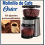 Moledora De Cafe Oster Con 18 Ajustes Personalizados