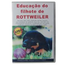 Dvd Educação Do Filhote Do Rottweiler