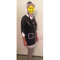 Disfraz Merlina Adams Halloween Envío Gratis