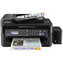 Impresora Multifuncional Wf2650 + Sistema Continuo De Tintas