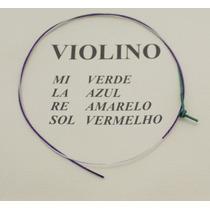 Corda Mí Para Violino Avulsa Mauro Calixto - Corda E Verde