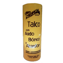 Talco Con Ácido Bórico Y Alcanfor Tropical 120g - Vicky