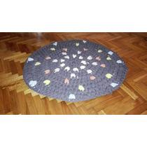 Alfombra A Crochet Totora