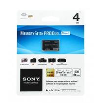 Cartão Memory Stick Pro Duo Original Sony Ms-mt4g/tq2 - 4gb