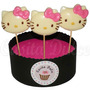 10 Chupetines De Chocolate Kitty En Colors Cumples Souvenirs