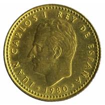 España Moneda 1 Peseta Año 1980 Sin Circular - Barcelona