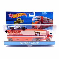 Caminhão Transportador Hot Wheels Speedway Hauler - Mattel