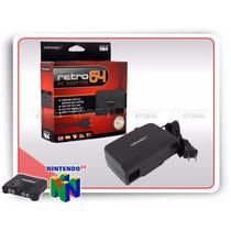 N64 Fonte Retro-bit Bivolt Nintendo 64
