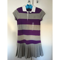 Vestido Polo Ralph Lauren Infantil Novo 8/10 Anos Lindo!