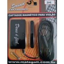 Captador Malagoli Sound Magnético P/ Violão - 2ae - Cp0083