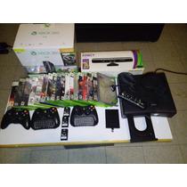 Solo Consola Seminueva Xbox 360 Slim 2011 Dvd Original Wifi
