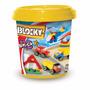 Balde Blocky 3 Para Varon 200 Pzas Y Guia Armado - Original