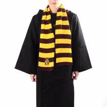 Cachecol Grifinória Gryffindor Hogwarts Harry Potter Cosplay