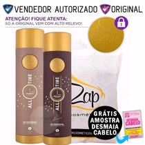 Escova Progressiva Professional Zap Cosméticos Kit 2x1000ml