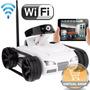 Tanque Drone Cámara En Vivo Wifi Radio Control Iphone Ipad