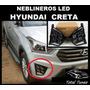 Neblineros Led Hyundai Creta 2016 - 2017