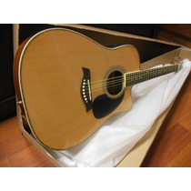 Guitarra Electro Acustica Folk C/ Corte + Eq + Afinador