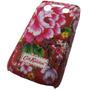 Funda Acrilica Blackberry 9700 9780 Diseño Flores