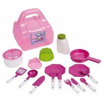 Kit Cozinha Com Maleta 604 - Magic Toys Oferta