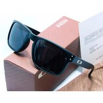 Óculos Oakley Holbrook Polarizado Matte Black Frete Gratis