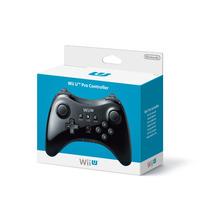 Controle Nintendo Wii U Pro Controller Preto Original
