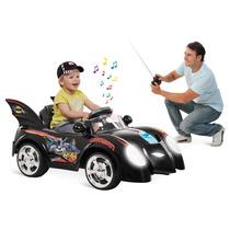 Carro Eletrico Infantil Batman 6 Bandeirante Controle Remoto