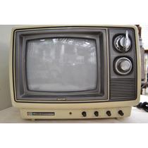 Televisão Portátil 10 Pol Semp Toshiba Colorida Antiga *beta