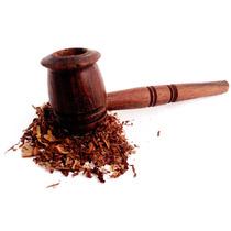 Pipa Para Tabaco Madera Economica + Tabaco Natural